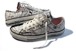 The Kurt Cobain Music Collection by Converse. All Rights Reserved.