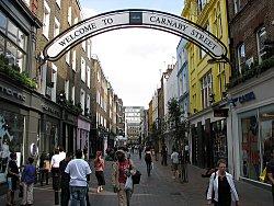 Carnaby street, London. Photo Credit: Ian Muttoo. C.C.License