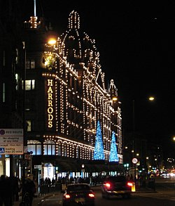 Harrods, London. Photo Credit: La Sequencia. C.C.License