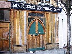 London Record Shops: Minus Zero. Photo Credit: surprise truck's. C.C.License