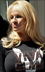 Pam Anderson denies dating Jacko. Photo Credit: indio. C.C.License.