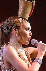 Kylie Minogue in Bollywood link. Photo Credit: law_kevin. C.C. License.