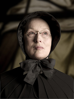 Doubt Interview: Meryl Streep. Photo Credit: Andrew Schwartz. Photo credited to Andrew Schwartz (C) 2008 Miramax Film Corp All Rights Reserved