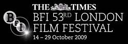 Date Announcement - The Times BFI 53rd London Film Festival 2009