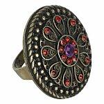 Tribal Gem Ring. New Look