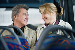 Harvey (DUSTIN HOFFMAN) and Kate (EMMA THOMPSON) in LAST CHANCE HARVEY. Momentum Pictures