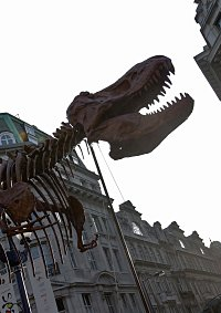 T-Rex to Take Advantage of Traffic Free Day on Oxford Street