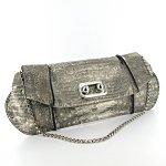 Celine Lizard skin evening bag