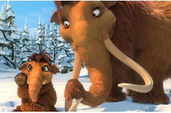 Ellie (Queen Latifah) in Ice Age 3: Dawn of the Dinosaurs. Photo credit: Blue Sky Studios. TM and Copyright 2009 Twentieth Century Fox Film Corporation. All Rights Reserved.