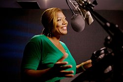 Queen Latifah voices Ellie in Ice Age 3: Dawn of the Dinosaurs. Photo credit: Kevin Estrada. TM and Copyright 2009 Twentieth Century Fox Film Corporation. All Rights Reserved.