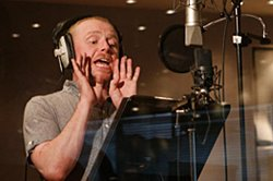 Simon Pegg voices Buck in Ice Age 3: Dawn of the Dinosaurs. TM and Copyright 2009 Twentieth Century Fox Film Corporation. All Rights Reserved.