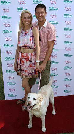 Collared on the Red Carpet. Photo: Camilla Dallerup and Kevin Sacre
