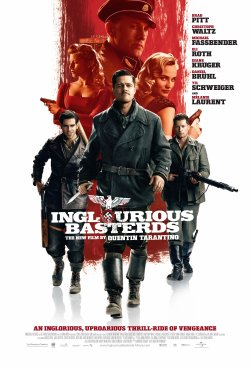 Inglorious Basterds' movie poster. Copyright: 2008 Universal Studios. ALL RIGHTS RESERVED.