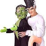 Adult Monster Marriage Costume. Joker Masquerade.