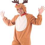 Adult Reindeer Costume. Joker Masquerade.