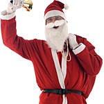 Adult Santa Suit - Budget. Joker Masquerade.