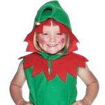 Child Lil' Elf. Joker Masquerade.