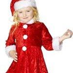 Mini Miss Santa Costume. Joker Masquerade.