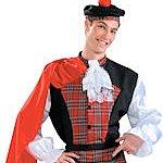 Adult What's Under the Kilt? Scottish Costume. Joker Masquerade.