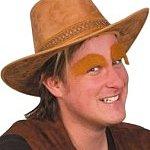Ginger Eyebrows. Joker Masquerade.