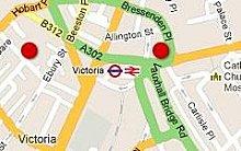 London Pubs Map