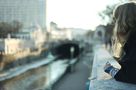 Social Travelling - Staying in an apartment in Vienna. Photo: Water View, Vienna by Hannah Cohen, Copyright LondonNet, 2012