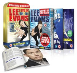 Lee Evans Complete Live Comedy Collection Competition.