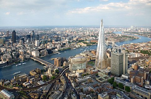 Aerial View of The Shard. Photo Copyright of The View from The Shard