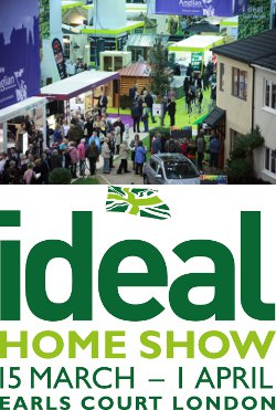 Ideal Home Show 2013 Competition.