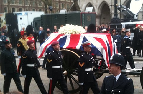 Thatcher funeral: 'She didn't want a memorial service,' says Bishop of London in