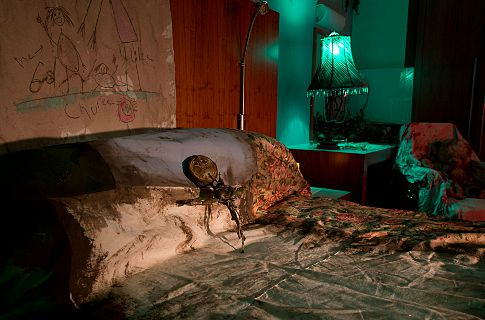 Pop-up Horror Hotel Opens in London. Photo Copyright Universal Pictures 2012.