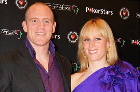 Zara Phillips confronts Mike Tindall's blonde friend.