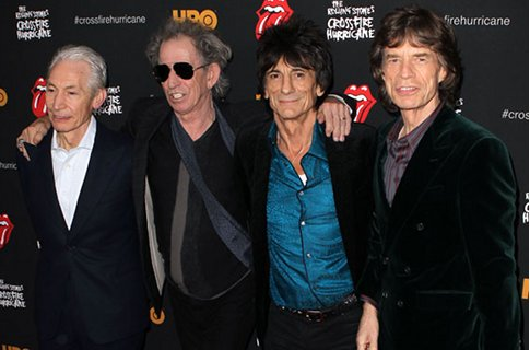 Rolling Stones bring in a forest of giant model trees for Hyde Park gig this wee