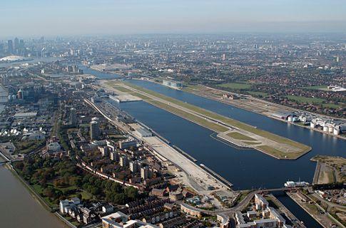 London City Airport. Copyright LondonNet/PrivateFly/Publicité Ltd 2014