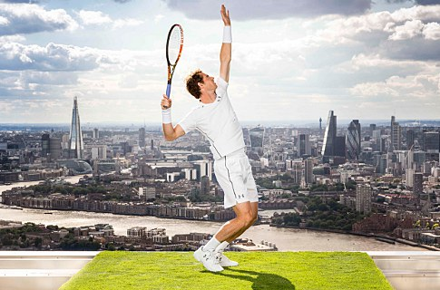 UNDER ARMOUR POWERS ANDY MURRAY TO THE NEXT LEVEL FOR WIMBLEDON