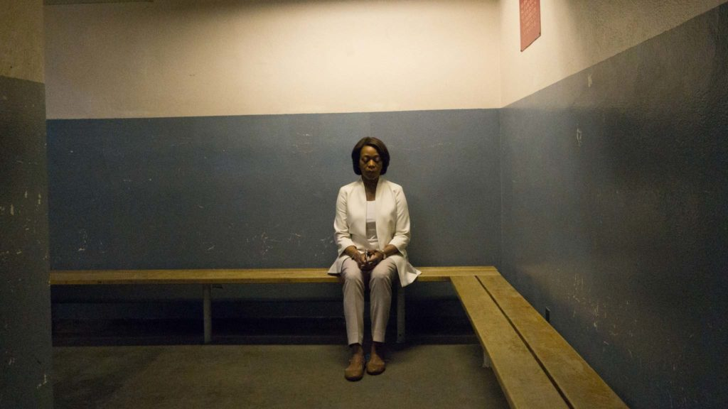Alfre Woodard as Bernadine Williams in Clemency, directed by Chinonye Chukwu. Photo: Paul Sarkis. Copyright: Modern Films. All Rights Reserved.