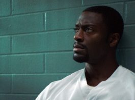 Aldis Hodge as Anthony Woods in Clemency, directed by Chinonye Chukwu. Copyright: Modern Films. All Rights Reserved.