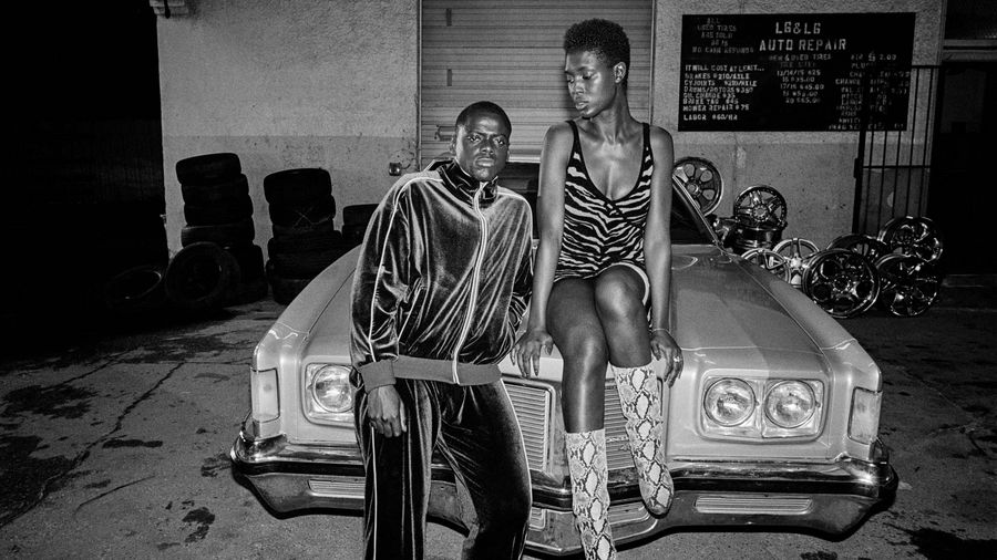 Daniel Kaluuya as Slim and Jodie Turner-Smith as Queen in Queen & Slim, directed by Melina Matsoukas. Photo: Andre D Wagner. Copyright: 2019 Universal Pictures/Entertainment One. All Rights Reserved.