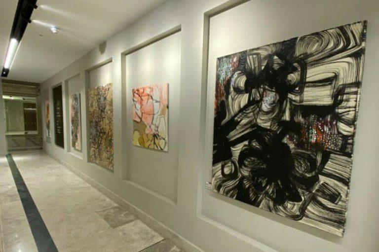 Fuen Chin: Calligraphic Paintings