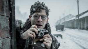 James Norton stars in Mr Jones, directed by Agnieszka Holland. Copyright: Signature Entertainment.