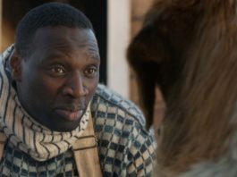 Omar Sy as Perrault and Buck in The Call Of The Wild, directed by Chris Sanders. Photo: courtesy Twentieth Century Fox Film Corporation. Copyright: 2019 Twentieth Century Fox Film Corporation. All Rights Reserved.