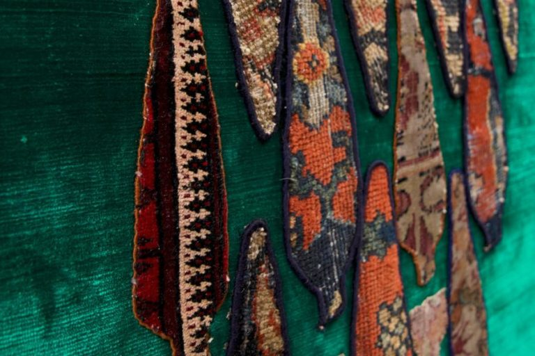 Rethreading And Retracing: Textiles & Techniques By Bita Ghezelayagh