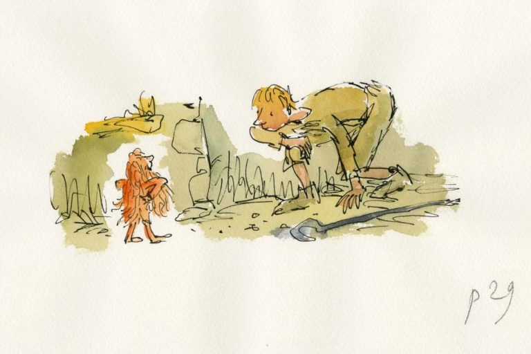 Quentin Blake: From The Studio