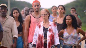 Barbara Colen stars in Bacurau, directed by Kleber Mendonca Filho and Juliano Dornelles. Copyright: Mubi.