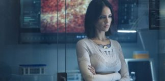 Eiza Gonzalez as KT in Bloodshot, directed by David SF Wilson. Photo: Graham Bartholomew. Copyright: 2020 CTMG, Inc. All Rights Reserved.