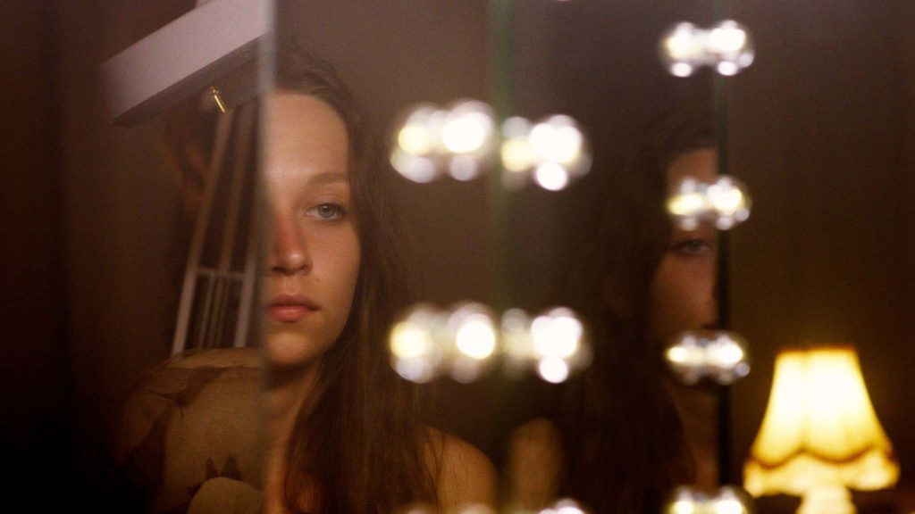 Molly Windsor as Ruth in Make Up, directed by Claire Oakley. Copyright: Curzon Artificial Eye. All Rights Reserved.