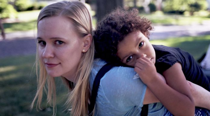 Kelly O'Sullivan as Bridget and Ramona Edith-Williams as Frances in Saint Frances, directed by Alex Thompson. Copyright: Vertigo Releasing. All Rights Reserved.