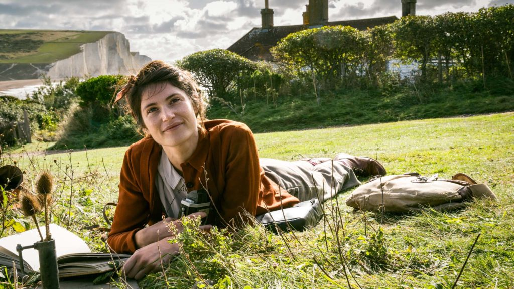Gemma Arterton As Alice Lamb in Summerland, directed by Jessica Swale. Photo: Michael Wharley. Copyright: Lionsgate Films/Flying Castles Ltd/Michael Wharley. All Rights Reserved.