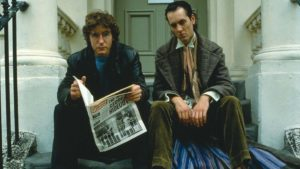 Paul McGann and Richard E Grant star in Withnail & I, directed by Bruce Robinson. Copyright: Arrow Films.