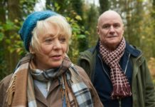 Alison Steadman as Fern and Dave Johns as Dave in 23 Walks, directed by Paul Morrison. Photo: Nick Wall. Copyright: Parkland Entertainment. All Rights Reserved.